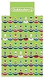 Subbuteo 135 x 200 cm 70 Percent Polyester/ 30 Percent Cotton Single Duvet Cover Set, Green