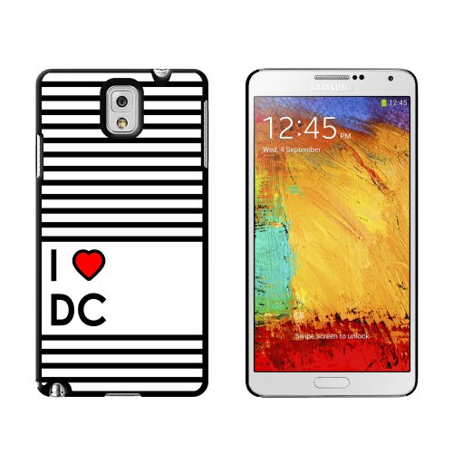 I Love Heart Dc - Washington - Snap On Hard Protective Case For Samsung Galaxy Note Iii 3 front-637365