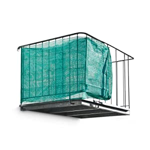 Green balcony privacy screen screening visual cover - Covering balcony for privacy ...