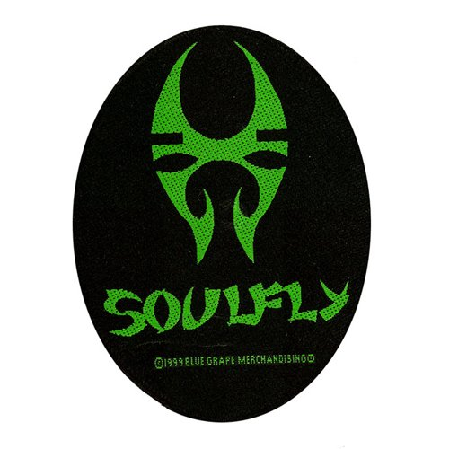 Soulfly - Patch Oval Logo (in 9 cm)
