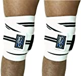 Authentic RDX Knee Wraps Weight Lifting Bandage Straps Guard Pads