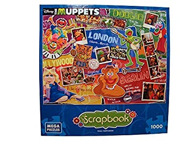 Disney Scrapbook 1000 Piece Jigsaw Puzzle: Muppets Most Wanted