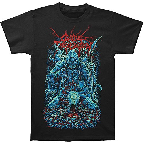Cattle Decapitation Men's Death Looms T-shirt Black