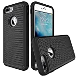 iphone 7 plus case atgoin dual layer iphone 7 plus case extreme shock absorption tri layer accessories protection heavy duty cover protective cases for iphone 7 plus 2016 black