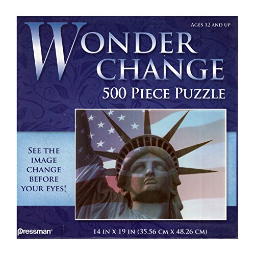 Wonder Change 500-Piece Puzzle - Statue of Liberty