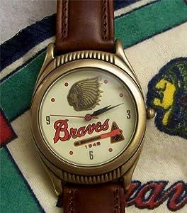 Boston Braves 1948 baseball National League Champions Collectors Fossil Watch Set
