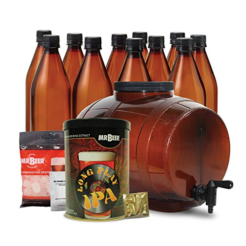 Mr. Beer Long Play IPA Craft Beer Making Kit (Mr Beer Refill Ipa compare prices)