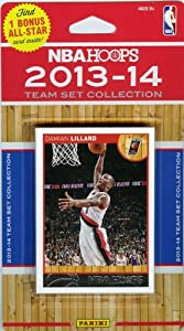 2013 14 Panini Hoops NBA Basketball Portland Trail Blazers Factory Sealed Complete... by Wowzzer