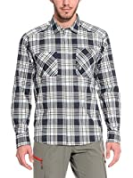 ZZZ-PEAK PERFORMANCE Camisa Hombre Galelsch S (Blanco / Azul)