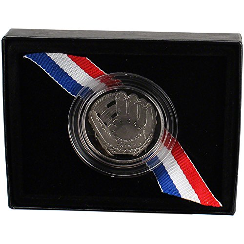 2014 S Us National Baseball Hall Of Fame Commemorative Proof Half Dollar 50C Ogp U.S. Mint