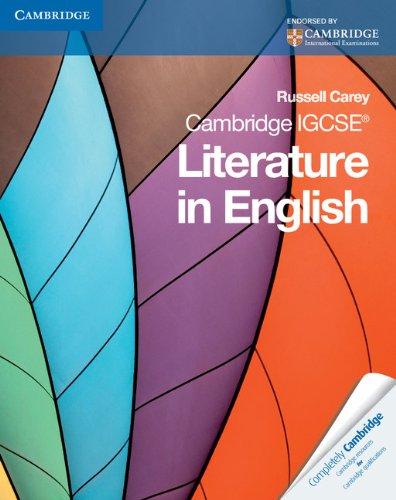 Cambridge IGCSE Literature in English (Cambridge International IGCSE)