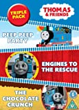 Thomas & Friends: Triple Pack (Peep Peep Party, Engines to the Rescue and The Chocolate Crunch) [DVD]