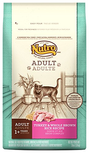 Nutro Adult Cat Turkey & Whole Brown Rice Recipe