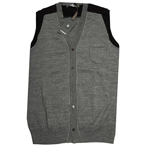 57790 gilet HI-BAND OCCASIONE smanicato maglia uomo sleeveless men [48]
