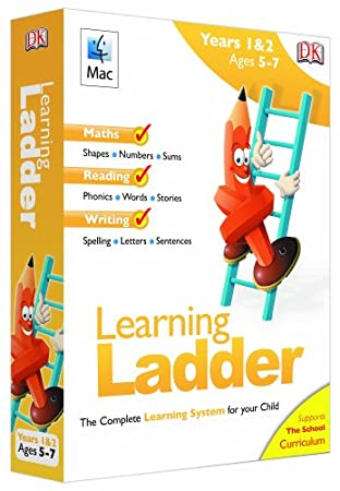 Learning Ladder Years 1 & 2 (Ages 5-7) (Mac CD)