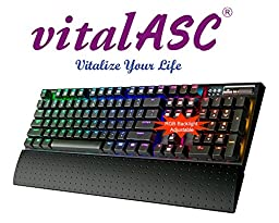 vital-AZ RGB Backlit Mechanical Gaming Keyboard