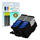 2 Black Compatible Printer Ink Cartridges to replace Kodak 30B (XL) for Kodak ESP 1.2, 3.2, 3.2S, C110, C310, C315, Office 2170, 2170 & Hero 3.1, 5.1