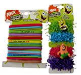 Spongebob Squarepants Squarepants Hair Ponies - 22 pcs Spongebob Elastics Hair Band Scrunchies