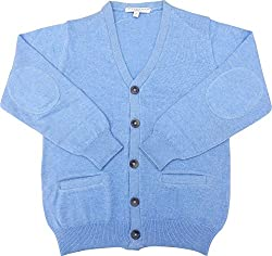 Tender Touch Baby Boys' 10 Years Sweater with Buttons (Blue)