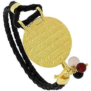 Sterling Silver Islamic AYATUL KURSI PRAYER Gold Plated