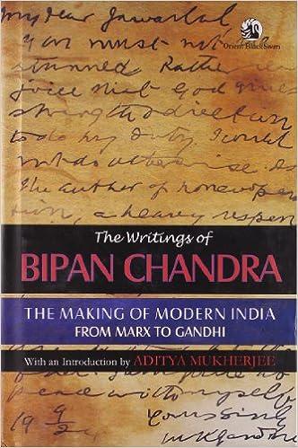 CHANDRA BIPIN INDIA BY PDF OF MODERN HISTORY