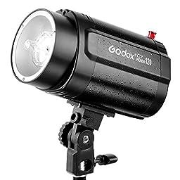 Godox Monolight 120W Pro Photography Studio Strobe Photo Head Flash Lighting