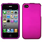 IPHONE 4 4S AT&t SPRINT VERIZON C-SPIRE HONEY DARK IPHONE 4 4S AT&t SPRINT VERIZON C-SPIRE PURPLE RUBBERIZED SNAP ON COVER CASE - PERFECT FIT