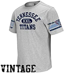 Reebok Tennessee Titans Vintage Applique T-Shirt by Reebok