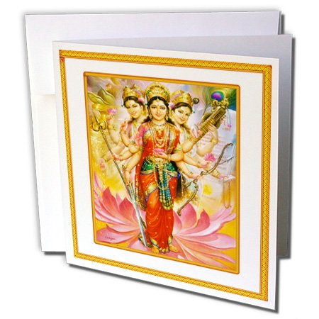 3drose-hindu-divine-mother-lakshmi-with-ornate-frame-greeting-cards-6-x-6-inches-set-of-12-gc-80274-