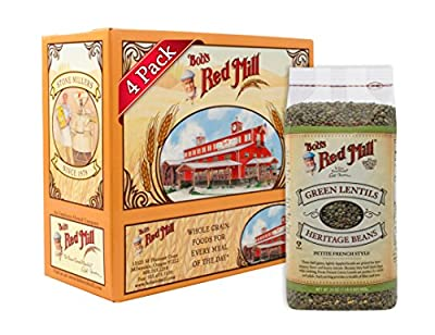 Bob's Red Mill French Green Lentils, 24-Ounce Packages (Pack of 4) from Bob's Red Mill