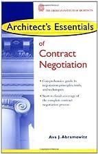 Architect s Essentials of Negotiation by Ava J. Abramowitz