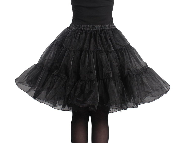 LUYAN 50er 60er Jahre Petticoat Tüllrock Rockabilly, 20″ Length Net Underskirt kaufen