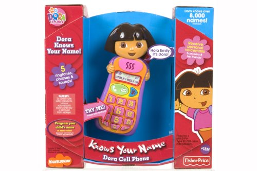 51D4953czBL Cheap Buy  Fisher Price Dora Knows Your Name Cell Phone