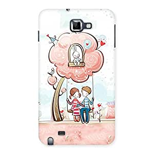 Swing Love Multicolor Back Case Cover for Galaxy Note
