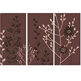 "Product Image Set of 3 Fabric - Willow (24 x 12"" Each)"