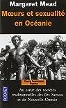 Moeurs et sexualité en Océanie par Mead