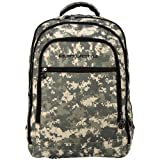 15 inch Army ACU Digital Camouflage Pattern Laptop Padded Compartment Backpack School Bag
