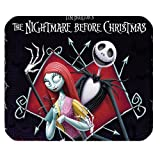 Mystic Zone The Nightmare before Christmas Jack Skellington Rectangle Mouse Pad (Black) - MZM00090