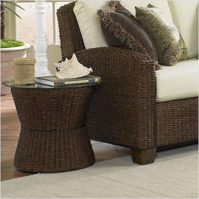 Cabana Banana Accent Table in Cocoa - Home Styles - 5402-20