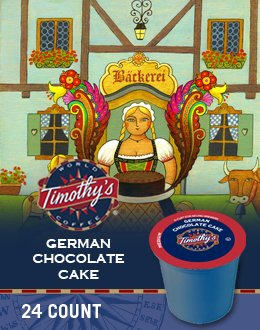 GERMAN CHOCOLATE CAKE K CUP COFFEE 120 COUNT (German Chocolate Cake Kcup compare prices)