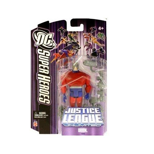 DC Super Heroes: Justice League Unlimited Orion (Purple Card) Action Figure
