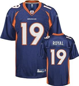 Reebok Denver Broncos Eddie Royal Replica Jersey by Reebok
