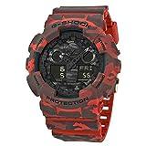 【カシオ】 CASIO G Shock Black Analog-Digital Dial Men's GA100CM-4A Watch アナログ デジタル ダイヤル メンズ腕時計をブラックします【並行輸入品】 KOOMOLL