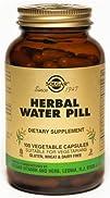 Solgar  Herbal Water Pill  100 Vegetarian Capsules formerly