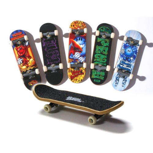 Tech Deck 96mm Bonus Pack 6 piezas. Establecer Lote / Incluye 6 Patinetas Randome Fingboard individuales