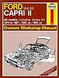 Ford Capri II, 1.6 & 2.0, All models 1974-87 Owner's Workshop Manual (Service & Repair Manuals)