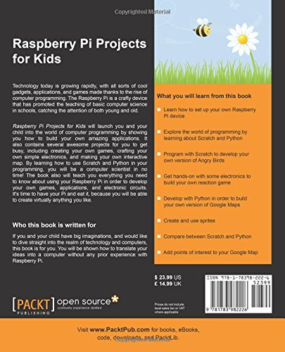 raspberry pi projects for kids pdf
