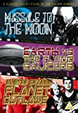3 Classic Sci-Fi Films Of The Silver Screen - Missile To The Moon / Earth Vs The Flying Saucers / Planet Outlaws [DVD]