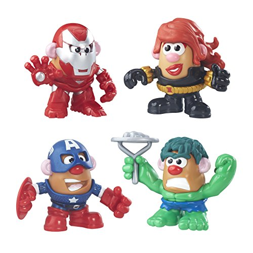 Playskool Friends Mr. Potato Head Marvel Super Rally Pack (Mr Potato Head Parts And Pieces compare prices)