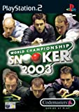 World Championship Snooker 2003 (PS2)